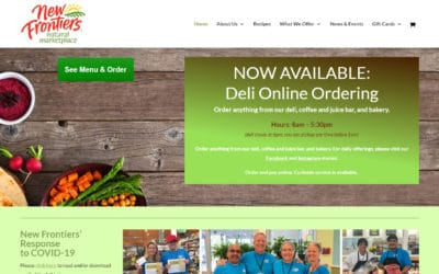 New Frontiers – Natural Marketplace